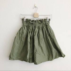 Zara Skirt in Olive Green